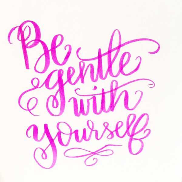 Hand Lettering Quote